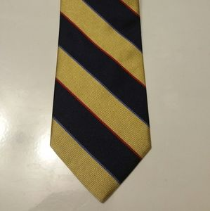 Brooks Brothers Tie Blue, Yellow & Red M&M